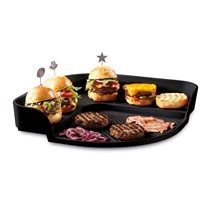 Tava burgeri, Charcoal - Emile Henry