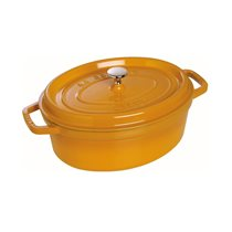 Oala Cocotte fonta ovala 23 cm, Mustard - Staub