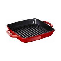 Tigaie grill rectangulara 23 cm, Cherry - Staub