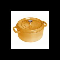 Vas Cocotte 20 cm/2,2 l, Mustard - Staub