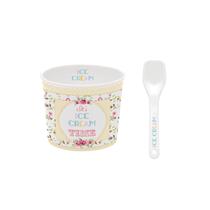 "Bol servire inghetata 8.5 cm ""Ice Cream Time"", galben - Nuova R2S"