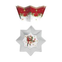 "Bol din portelan ""Vintage Christmas"" Ø 20 cm - Nuova R2S"