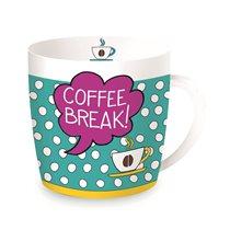 "Cana din portelan 350ml ""Coffee Break"" - Nuova R2S"