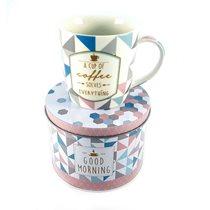 "Cana ""Coffee or Tea - Coffee Cup"" 350 ml din portelan - Nuova R2S"