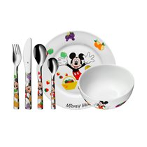 """Set servire masa copii 6 piese """"Mickey Mouse"""" - WMF"""